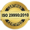 ISO 29990:2010 Certified Firm